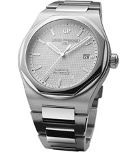 Girard Perregaux 81000 11 131 11A Laureato Stainless Steel Automatic Watch