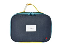 State Bags Color Block Rodgers Lunch Box Green Navy