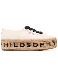 Superga X Philosophy Di Lorenzo Serafini Sneakers White