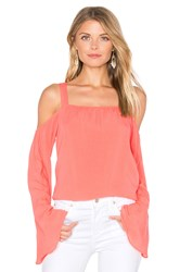 Sanctuary Melody Bare Shoulder Top Pink