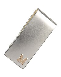 Personalized Money Clip Men's Grey Heather Moore