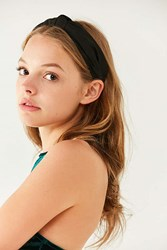 Urban Outfitters Top Knot Headband Black