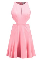 Zac Zac Posen Megan Summer Dress Cotton Candy Pink