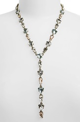 Baublebar 'Ynez' Y Chain Necklace Pastel Antique Gold