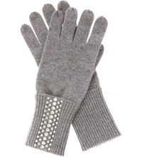 William Sharp Swarovski Crystal Cashmere Gloves 001Ssha