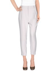 Cappellini By Peserico Casual Pants Light Grey