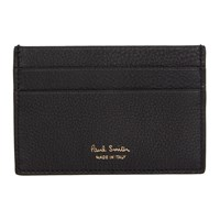 Paul Smith Black Multistripe Insert Card Holder 79 Black
