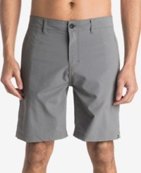 Quiksilver Men's Twill Shorts Gray