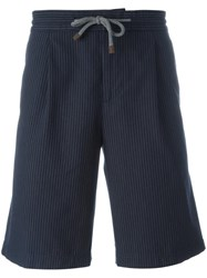 Brunello Cucinelli Drawstring Shorts Blue