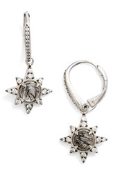 Nadri Women's Holiday Star Drop Earrings