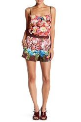 Clover Canyon Full Blooms Romper Multi