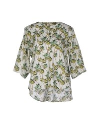 So Nice Shirts Blouses Women Ivory