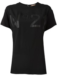 N 21 No21 Sheer Panel Tank Black
