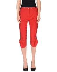 Gaetano Navarra Trousers 3 4 Length Trousers Women Red