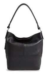 Treasure And Bond Sydney Leather Convertible Hobo Black