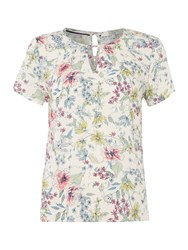 Dickins And Jones Mila Woven Top Multi Coloured Multi Coloured