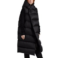 Rick Owens Liner Down Quilted Sleeveless Puffer Jacket Black