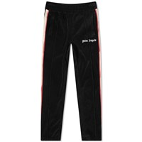 Palm Angels Tie Dye Tape Chenille Track Pant Black
