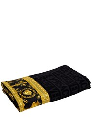 Versace Baroque And Robe Beach Towel