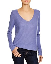 Joie Luscinia Cashmere V Neck Sweater Bluebell