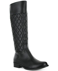 Mia Coraline Quilted Riding Boots Women's Shoes