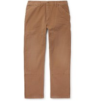Carhartt Wip Organic Cotton Canvas Cargo Trousers Brown