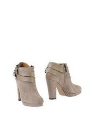 Pierre Darre' Ankle Boots Dove Grey