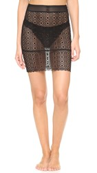 Else Lingerie Coachella Pencil Skirt Slip Black