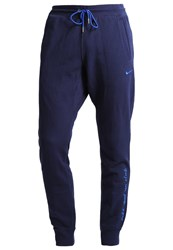 Nike Performance Fc Barcelona Tracksuit Bottoms Obsidian Game Royal Dark Blue