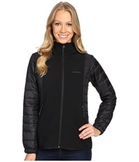 Merrell Northernlites Hybrid Softshell Jacket Black Women's Coat