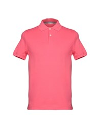 Heritage Polo Shirts Coral