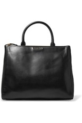 Sandro Alanisse Leather Tote Black