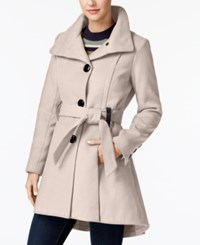 Madden Girl Juniors' Drama Skirted Coat A Macy's Exclusive Blush