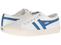 Gola Coaster Off White Ocean Blue Men's Shoes Khaki
