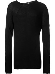 Lost And Found Longsleeved T Shirt Black