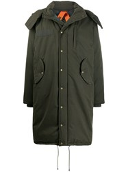 Mr And Mrs Italy Snap Button Coat Green