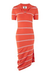 Topshop Margot Polo Neck Dress By Unique Red