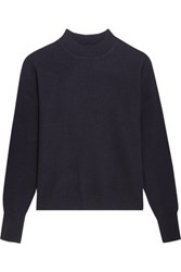Iris And Ink Constanza Oversized Cashmere Sweater Navy