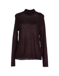 Vero Moda Turtlenecks Deep Purple