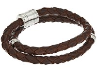 Miansai Leather Casing Bracelet Brown