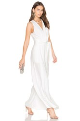 Keepsake Meadows Jumpsuit White