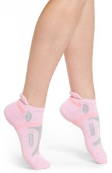 Balega Women's Hidden Contour Ankle Socks Bubblegum Pink