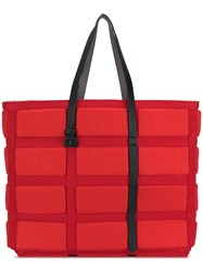 Carmina Campus Life Jacket Tote Red