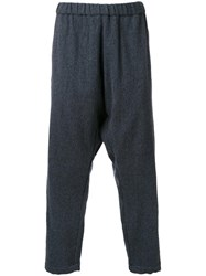 Gold Milling Wool Easy Trousers Grey