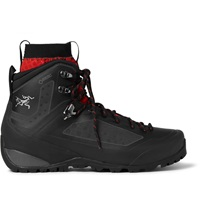 Arc'teryx Bora2 Dual Lined Rubber Hiking Boots Black