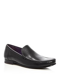 Ted Baker Simeen Moc Toe Loafers Black