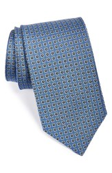 Men's J.Z. Richards Woven Silk Tie Blue
