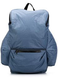 Christopher Raeburn Pack Away Rucksack Blue