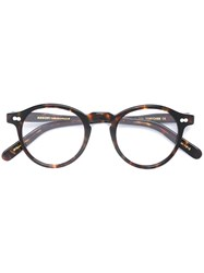 Moscot 'Miltzen' Glasses Brown