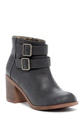 Michael Antonio Bellow Heeled Bootie Gray